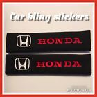 Seat belt pads sigles and pairs universal all models and brands. Easy fitment