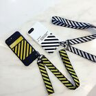 Luxury Off White Stripe Lanyard TPU Case Cover for iPhone X 6s 7 8 Plus