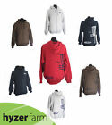 DISCRAFT BASKET LOGO HEAVY ZIP-UP HOODIE SWEATSHIRT *pick color/size* Hyzer Farm