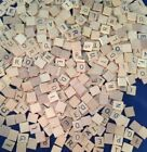 Внешний вид - vintage old style USA SCRABBLE LETTER TILES  (A-Z) WOODEN, GREAT FOR CRAFTS