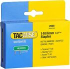 TACWISE 140 SERIES STAPLES In Various Size (8mm, 10mm, 12mm & 14mm)