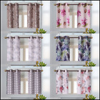 leaf design curtains - 1 PAIR Designs Bronze Grommets Insulated Blackout Window Drape Curtain (FLORAL)