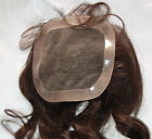 Full Lace Weave Closure Human Indian Remy Remi Premium Hair Partial Wig Topper