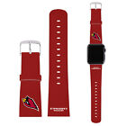 OFFICIAL NFL ARIZONA CARDINALS LOGO RED LEATHER STRAP FOR APPLE WATCH