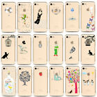 UK Luxury Soft TPU Rubber Silicone Back Case Cover For Apple iPhone 7 6S Plus EW