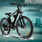 "Brand 26"" Electric Bike E-Bike Mountain City Bicycle Cycling 21 Speed 36V Li-ON"