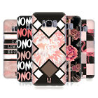 HEAD CASE DESIGNS BLACK & PINK HARD BACK CASE FOR SAMSUNG PHONES 1