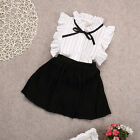 Baby - US 2PCS Set Girls Dress Kids Baby Toddler Tops+Skirt T-shirt Outfits Clothes