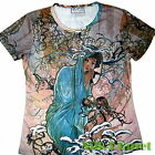 ALPHONSE MUCHA Winter Snow SEASON T SHIRT NOUVEAU FINE ART PRINT POSTER PAINTING