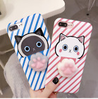 Lovely 3D Soft Cat Claw TPU Silicone Phone Case Cover For iPhone 6 6P 7 7P