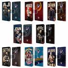 OFFICIAL WWE SUPERSTARS LEATHER BOOK WALLET CASE COVER FOR SAMSUNG PHONES 1