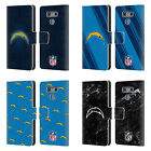 OFFICIAL NFL 2017/18 LOS ANGELES CHARGERS LEATHER BOOK CASE FOR LG PHONES 1