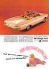 1966 Dodge Dart Convertible - Promotional Advertising Poster $9.99 USD on eBay
