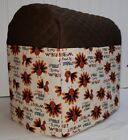 Thanksgiving Gobble Turkey Kitchenaid Stand Mixer Cover w/Pockets READY TO SHIP!