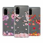 HEAD CASE DESIGNS BLOSSOMS AND LEAVES SOFT GEL CASE FOR SAMSUNG PHONES 1