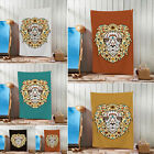 3D Digital Print Lion Head Light Design Towels