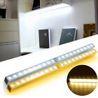 20-LED Sensor Light Bar Lamp For Home Kitchen Cabinet Closet Warm White/White