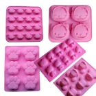 Kitten Cat 3D silicone cake Baking mold Dog Paw Print Chocolate Candy Soap mould