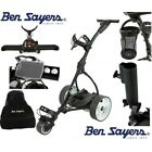 """""""NEW 2018"""" BEN SAYERS ELECTRIC GOLF TROLLEY*ACCESSORY BUNDLE WORTH OVER £100!!"""