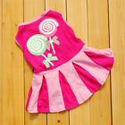 Dog Pet Tutu Dress Skirt Puppy Small Dog Cat Princess Costume Apparel Clothes