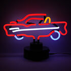 Real Neon Sign -Not LED American Muscle Car Chevrolet 57 CHEVY BEL AIR Desk Lamp