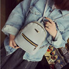 Women Girl Mini Backpack PU Leather College Shoulder Satchel School Rucksack Bag