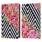 OFFICIAL MARK ASHKENAZI FLORALS LEATHER BOOK WALLET CASE COVER FOR APPLE iPAD