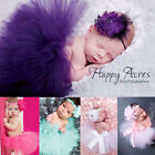 new born baby cute - USA Cute Toddler Newborn Baby Girl Tutu Skirt Headband Photo Prop Costume Outfit