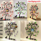 3D Photo Frame Family Tree Wall Decal Stickers Living room Bedroom Home Decor