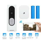 Wireless 2-Way Doorbell WiFi Video Smart Door Bell PIR Security Camera / Adapter