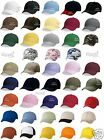 100 Valucap Adult Baseball HaUnstructured Cotton Cap VC300A Dad's Cap WHOLESALE