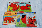 Lot of 5 Norman Bridwell CLIFFORD - THE BIG RED DOG Childrens' Paperback Books