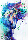Art Wall HD prints Beautiful Colored Horse Picture painting on canvas Home Decor