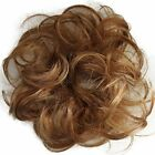 PRETTYSHOP 100% Human Hair Up Scrunchie Scrunchy Extensions Hairpiece Do Bun