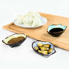 Excellent Leaves Shape Plates Sushi Dishes Snack Vinegar Seasoning Sauce Plate D