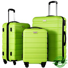 Spinner Luggage Set Hard Shell 3 Piece Suitcases Lightweight Suitcase For Travel