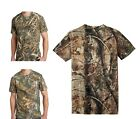Внешний вид - Russell Mens Camo T-Shirt Realtree Xtra, Max 5, AP Cotton Hunting S-XL 2X 3X NEW