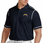 Antigua Los Angeles Chargers Icon Polo - Blue $56.99 USD on eBay