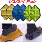 1 Pair Reusable Automatic Overshoes Shoe Sock hands free Fast Shoe Covers UK