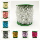 5yds Fishing Line Artificial Pearl Beads Chain Garland Flower Wedding Decoration