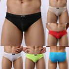 Mens Boxer Briefs Breathable lace mesh Triangle Bikinis and Underwear Nightwear