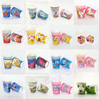 10x Frozen Moana Trolls Kids Birthday Party Cups Favor Supplies Decoration