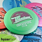 Discraft Ti CRANK *pick your weight and color* Hyzer Farm disc golf driver