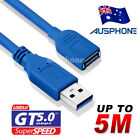 Super Speed USB 3.0 Male to Male Data Cable Extension Cord For Laptop PC Camera