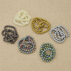 8mm Frosted Glass Beads Jewelry Findings Making Accessories Charms DIY Handcraft