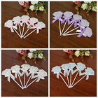 5pcs/pack Diamond Cupcake Toppers Wedding Birthday Baby Shower Party Cake Decor