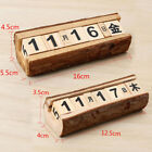 Shabby Chic Insensitive Countdown Blocks Wooden Calendar Home Office Decor Crafts