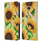 HEAD CASE DESIGNS ORGANIC FLORALS LEATHER BOOK WALLET CASE FOR MOTOROLA PHONES