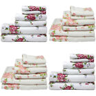Harwoods Printed Rose 100% Portuguese Cotton Face Cloth