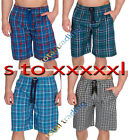 Mens Pyjamas Night Wear Pyjamas PJ Bottoms Lounge Shorts pants COTTON TWILL
